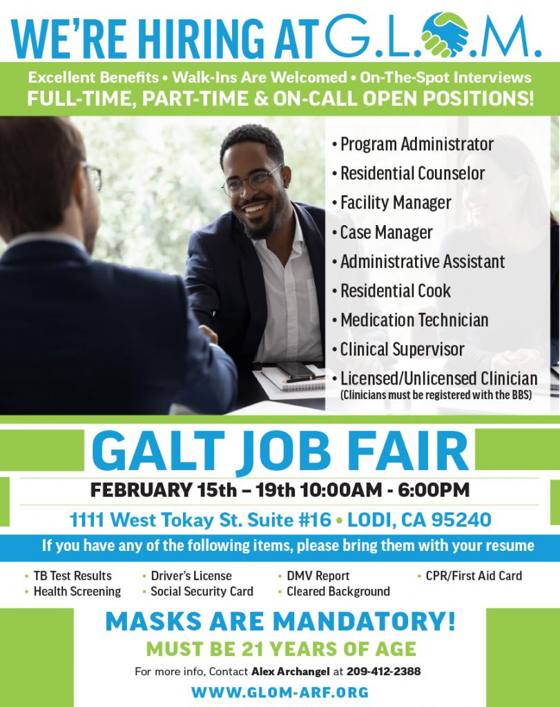 , Galt Job Fair