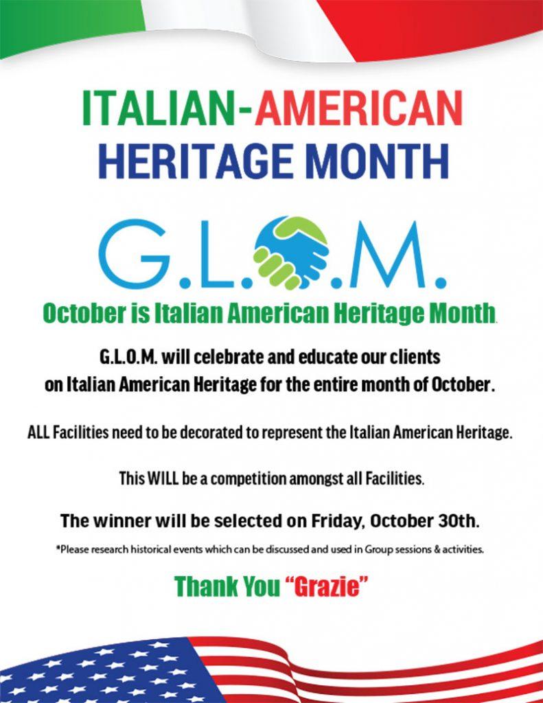 , Italian-American Heritage Month